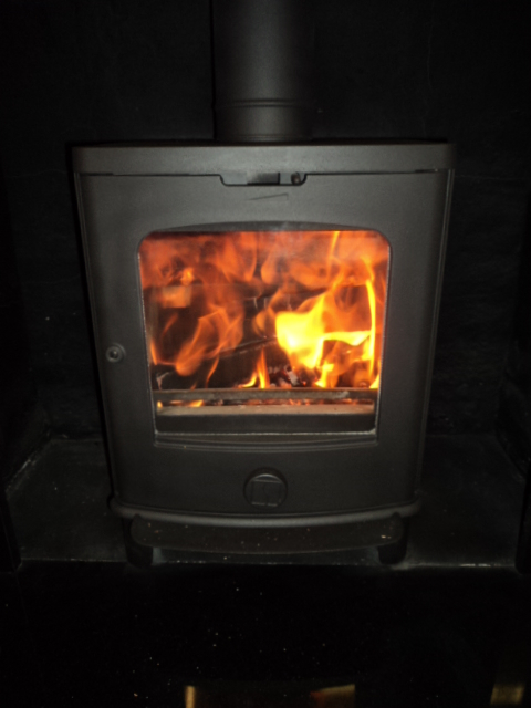 how to clean a fire flue