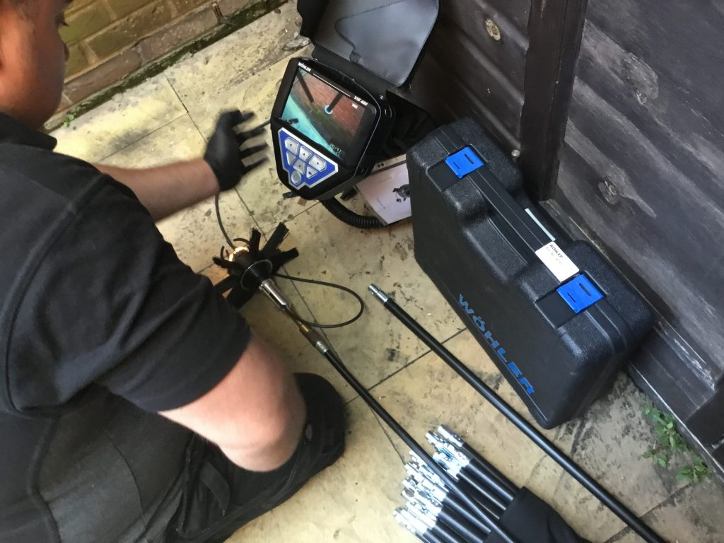 Professional chimney services utilising Wohler chimney camera equipment.
