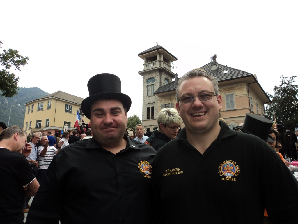 Every chimney sweep from the UK should attend the Santa Maria Maggiore at some point in their chimney sweeping career.